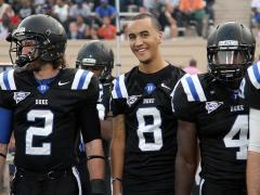Duke beats NC Central in emotional rivalry game, 54-17