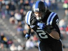Duke's Conner Vernon during the Devils' 52-45 loss to Miami on Saturday, November 24, 2012 in Durham, NC (Photo by Jack Morton).