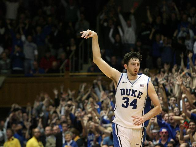 Duke's Ryan Kelly during the Devils' 73-68 win over Ohio State on Wednesday, November 28, 2012 in Durham, NC (Photo by Jack Morton).