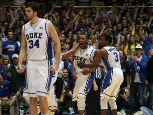 Duke's Rasheed Sulaimon during the Devils' 73-68 win over Ohio State on Wednesday, November 28, 2012 in Durham, NC (Photo by Jack Morton).
