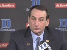 Krzyzewski: Kelly injury status unknown