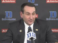 Krzyzewski: We're a new team
