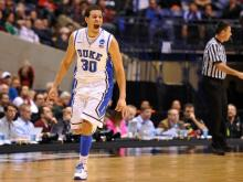 The Duke Blue Devils advanced to the Elite 8 with a 71-61 win over Michigan State Friday, March 29, 2013 at Lucas Oil Stadium.