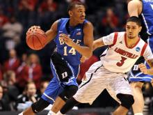 The Blue Devils season ended in the Elite Eight after a 85-63 loss to Louisville Sunday, March 31, 2013 in Indianapolis.