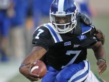 Brandon Connette ran for four touchdowns and threw for another Saturday as the Duke Blue Devils defeated No. 23 Miami at Wallace Wade Stadium, 48-30. With the win, Duke improves to 8-2 on the year and controls their destiny to win the ACC Coastal Division.
