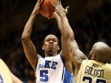 Rodney Hood scored 15 of his 27 points in the second half, and No. 16 Duke beat Georgia Tech 79-57 on Tuesday night at Cameron Indoor Stadium.