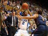 Duke outlasts Virginia, 69-65