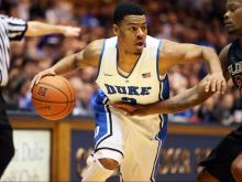 Jabari Parker fished with 14 points and 14 rebounds to help Duke beat Florida State Saturday in Cameron Indoor, 78-56. The win was Coach K's 900th on the Blue Devils' bench.