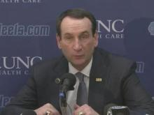 Krzyzewski: We just didn't have 'it'