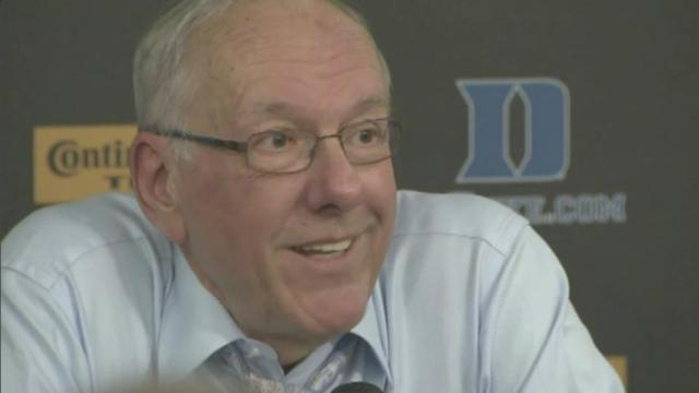 Fialko: Boeheim ejected after 'worst call' in 'well-officiated' game