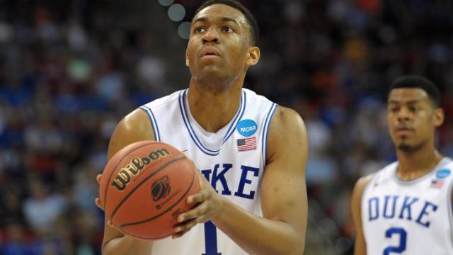 No. 14 Mercer upsets No. 3 Duke, 78-71