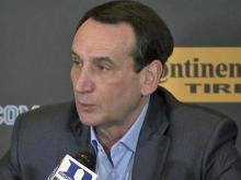 Coach K: Maturity a factor in Duke's early exit
