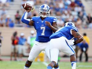 Duke rolls past Elon behind 4 Boone TDs