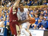 Duke eases past Boston College, 85-62