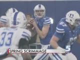 Duke football closes spring practice with indoor scrimmage