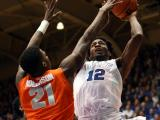 Duke crushes Orange, 73-54