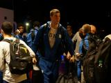 Duke arrives in Houston ahead of Sweet 16