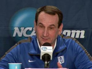 Krzyzewski: Both teams will shoot better Sunday