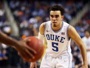 Duke freshman Tyus Jones