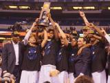 Duke celebrates national championship win