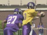 Offense edges defense at ECU spring game