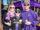 ECU fans tailgate before contest with Tulsa