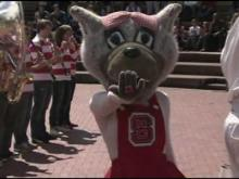 Mims: NC State fans filling St. Louis with red