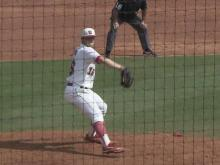 04/21: Medlin: Wolfpack win keeps pitcher perfect