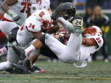 North Carolina State turned the ball over on three of their first four possessions Monday against Vanderbilt, setting the tone for a 38-24 loss in the Music City Bowl in Nashville.