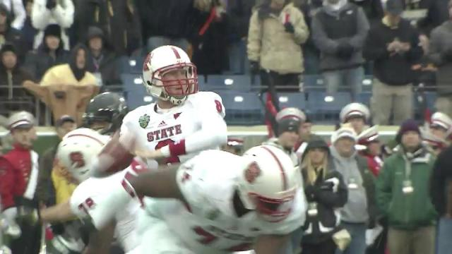 Mitchell: Turnovers cost NC State Music City Bowl win