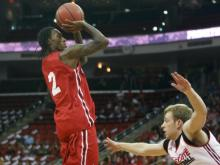 The NC State men's basketball team opened up its 2013-14 exhibition season with a 96-85 win over UNC Pembroke on Wednesday night at Reynolds Coliseum.