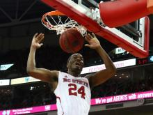 TJ Warren scored 42 points and added 13 rebounds to help NC State beat Boston College Sunday at PNC Arena, 78-68.
