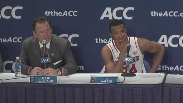 Gottfried: The good news is that we were scoring