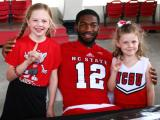 NC State fans meet the 2014 Wolfpack team