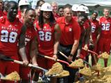 NC State dedicates new indoor practice facility