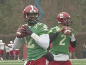 NC State football takes field after weather delays spring practice