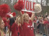 NCSU rally