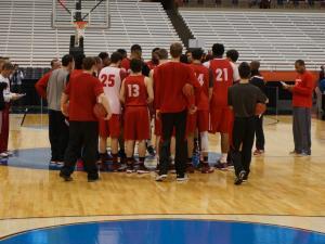 NCSU practice in Syracuse