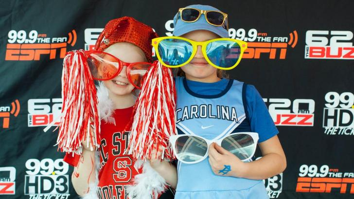 Fanzone: Fans enjoy the tailgate before the NC State-UNC game