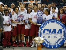 The Shaw Lady Bears won their fourth consecutive CIAA championship Saturday as they beat Fayetteville State in the tournament final, 73-70.