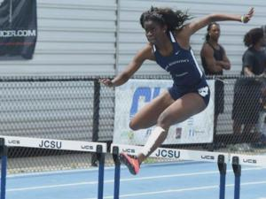 St. Aug hurdler Belle 'excited,' 'nervous' about likely trip to Olympics