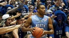duke vs unc - crazies and ellington
