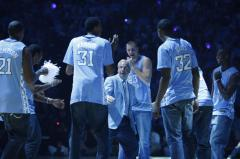"Carolina celebrates ""Late Night with Roy"""