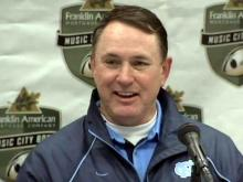 Former University of North Carolina head football coach Butch Davis sits down in a one-on-one exclusive with WRAL-TV sports anchor Jeff Gravley.