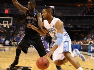 March 20 2011: North Carolina guard Leslie McDonald (2) during a game between the Washington Huskies and the North Carolina Tar Heels in the Third Round of the NCAA Division I Men's Basketball Championship at the Time Warner Cable Arena in Charlotte, NC. (Photo by Lance King)