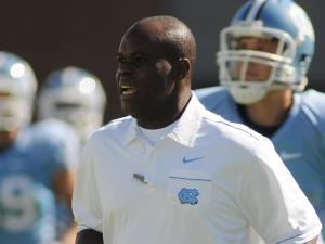Everett Withers during the University of North Carolina vs. Miami game, Saturday, October 15, 2011.