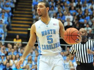 Kendall Marshall (5) during the North Carolina Tar Heels vs. Virginia Cavaliers NCAA basketball game in Chapel Hill, N.C. Saturday, February 11, 2012.