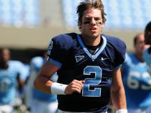 UNC fans got a glimpse of the Tar Heels new no-huddle spread offense and 4-2-5 defense Saturday at Kenan Stadium.