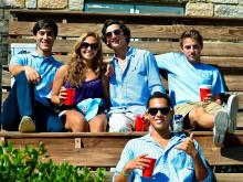 UNC fans tailgate in style, enjoying an afternoon of food, drink, live music and dance before an amazing 27-6 victory against East Carolina on Saturday