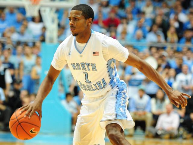 Dexter Strickland (1) during the North Carolina Tar Heels vs. UNLV Runnin&#039; Rebels NCAA basketball game, Saturday, December 29, 2012 in Chapel Hill, NC. <br/>Photographer: Will Bratton